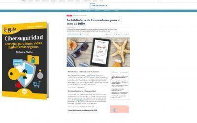 El GuíaBurros: Ciberseguridad, libro recomendado por el medio Innovadores