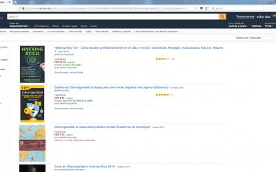 El GuíaBurros: Ciberseguridad, entre los reyes de Amazon en la categoría de Informática, internet y medios digitales