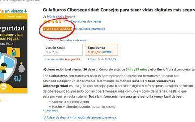 GuíaBurros Ciberseguridad, Nº1 en ventas en Amazon