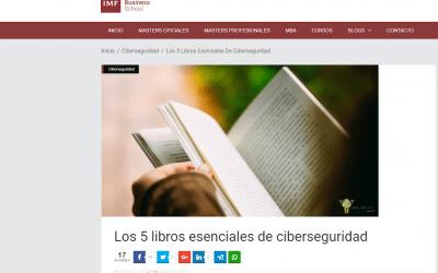 El GuíaBurros: Ciberseguridad, de la periodista Mónica Valle, recomendado por Blogs.imf-formacion