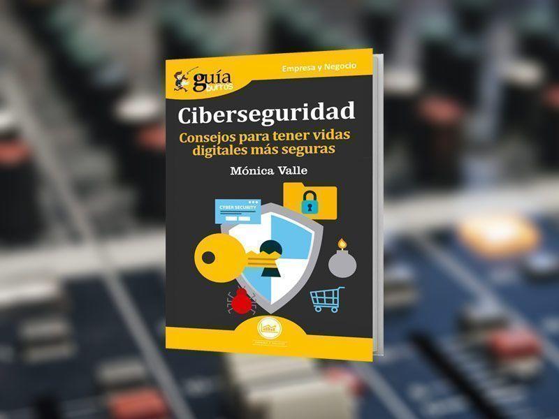 """El «GuíaBurros: Ciberseguridad» y su autora, Mónica Valle, en """"Buenos días Madrid Fin de Semana"""", en Onda Madrid"""